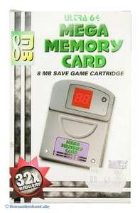 Memory Card / Memorycard / Speicherkarte / Controller Pak 8MB Mega Memory [Ultra 64]