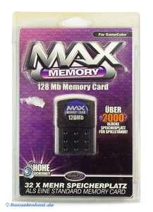 Memory Card / Memorycard / Speicherkarte 128 MB Max Memory [Datel]