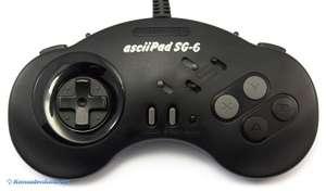 AsciiPad SG-6 mit Turbo und Autofire #schwarz