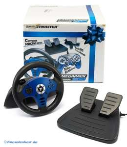 Lenkrad / Racing / Steering Wheel mit Pedale + Controller + Stand [Thrustmaster]
