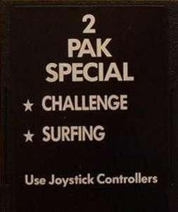 2 Pak Special - Challenge + Surfing