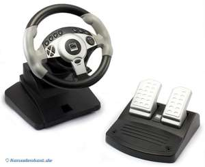 Lenkrad / Racing / Steering Wheel mit Pedale SL-6690 4in1 FF [Speedlink]