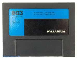Palladium: Cassette 603 / Autorennen