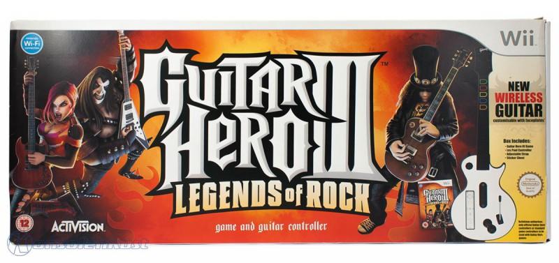 Guitar Hero 3: Legends of Rock + Les Paul Gitarre