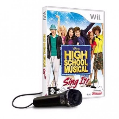 Disney Sing It: High School Musical 1 + Mikrofon
