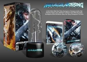 Metal Gear Rising: Revengeance #Limited Edition + Lampe, Steelbook & OST