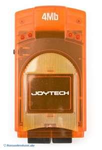 Memory Card VMU 4 MB #clear-orange [JoyTech]