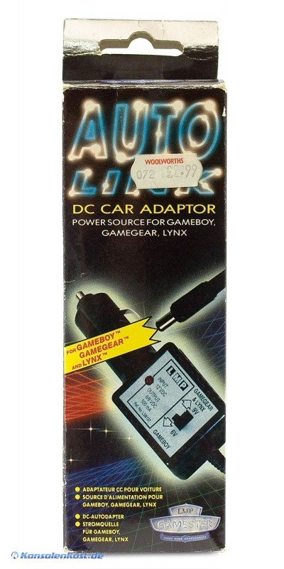 Specials - Car Adapter / Autoladekabel / Netzteil für Gameboy, Game Gear, Atari Lynx [Gamester]