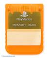 Original Sony Memory Card / Memorycard / Speicherkarte #orange-transp.