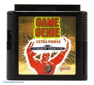 Game Genie: Extra Power / Cheatmodul / Schummelmodul