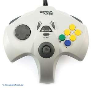 Controller / Pad #grau mit Turbo / Slowmotion [Plus64]