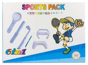 Zubehör-Set: 6 in 1 Sports Bundle [Gamexpert]