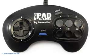 6 Button Controller - The Pad Plus #schwarz [Innovation]
