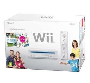 Konsole RVL-101 #weiß Family Edition + 2 Spiele + Original Remote + Zubehör