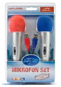 Mikrofon / Microphone DSDS Doppelpack [Speedlink]