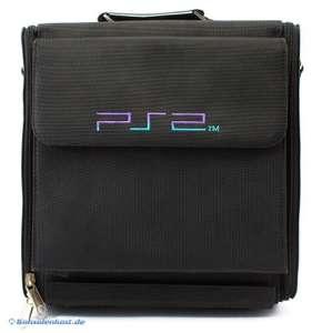 Original Tasche / Tragetasche für Sony Playstation 2 Slim #schwarz
