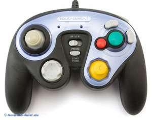 Controller / Pad #schwarz Tournament Pro GCP-100 mit Turbo & Kombo Funktion