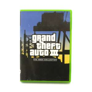 Grand Theft Auto III / GTA 3 #Xbox Collection