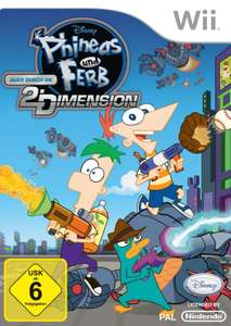 Phineas & Ferb: Quer durch die 2. Dimension / Across the Second Dimension