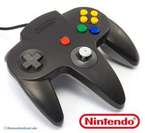 Original Nintendo Controller #schwarz-grau Mario Kart Edition NUS-005