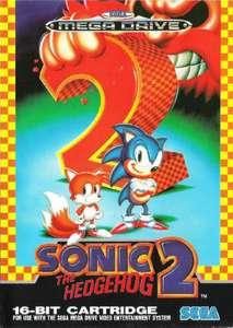 Mega Drive - Sonic the Hedgehog 2 (mit OVP) (gebraucht) NEUWERTIG