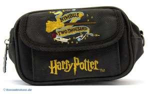 Carry Case / Tragetasche für Konsole und Spiele #Hary Potter / Nimbus 2000