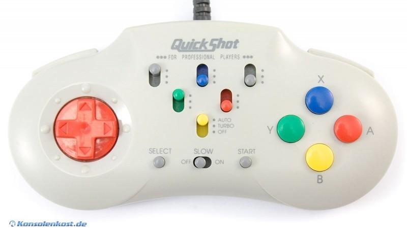 Controller mit Turbo & Slowmotion QS-184 #grau [QuickShot]