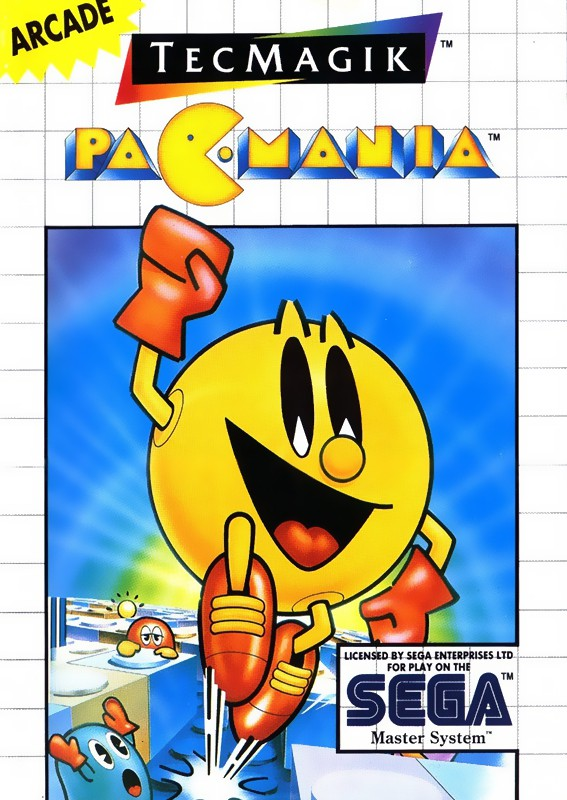 Master System - Pac-Mania