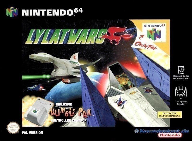 Lylat Wars / Starfox 64 + Rumble Pak