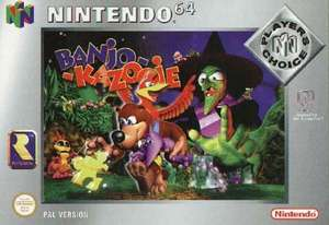 Banjo Kazooie [Player's Choice]