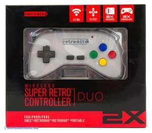 Super Retro Controller Duo / 2 Wireless Controller
