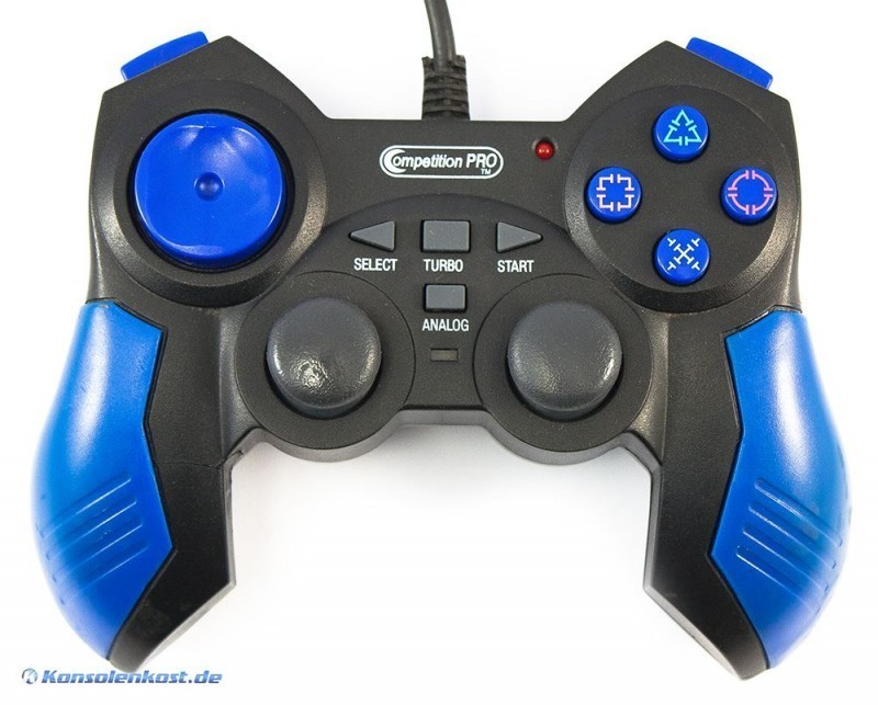 Controller / Pad mit Turbo & Slowmotion [Competition Pro]