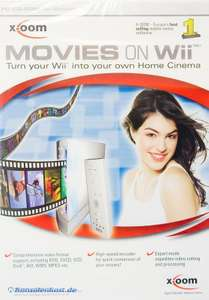 Movies on Wii / Video Converter für den PC DVD SVCD DivX AVI WMV MPEG etc. [X-Oom]