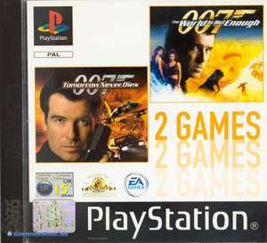 2 Spiele - 007 Tomorrow Never Dies & The World Is Not Enough