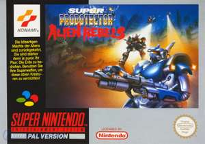 Super Probotector: Alien Rebels