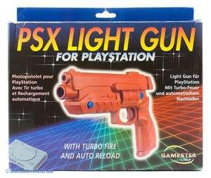 Light Gun / Pistole / Phaser mit Sonderfunktionen #rot [Gamester]