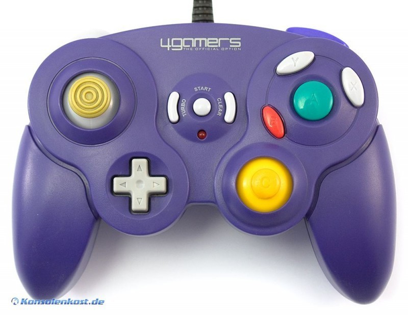 Controller / Pad #lila mit Turbo [4Gamers]