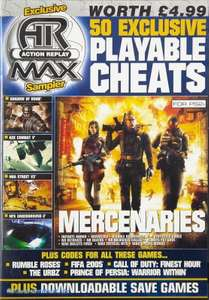 Action Replay Playable Cheats Vol. 26