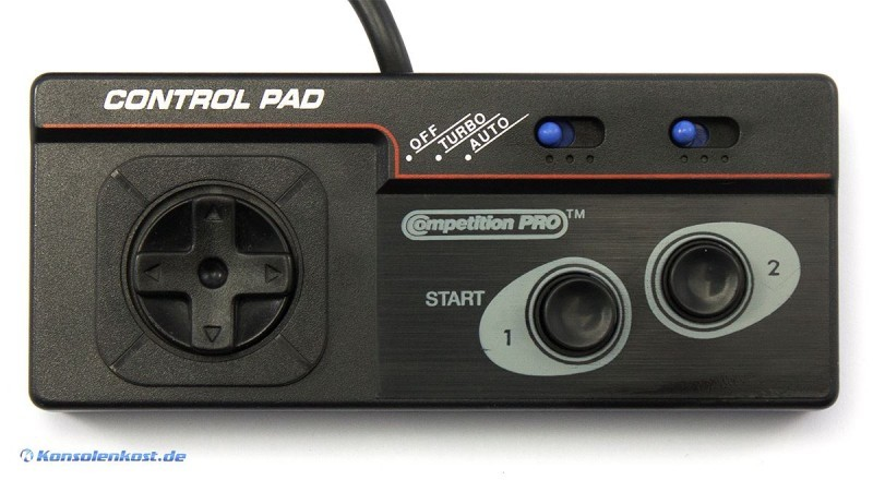 Controller / Control Pad mit Turbo #schwarz [Conmpetition Pro]