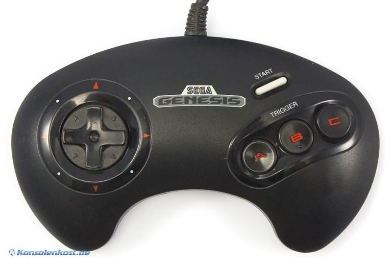 Original 3-Button Controller No.1650 [SEGA]