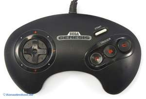 Original 3-Button Controller No.1650 [SEGA]