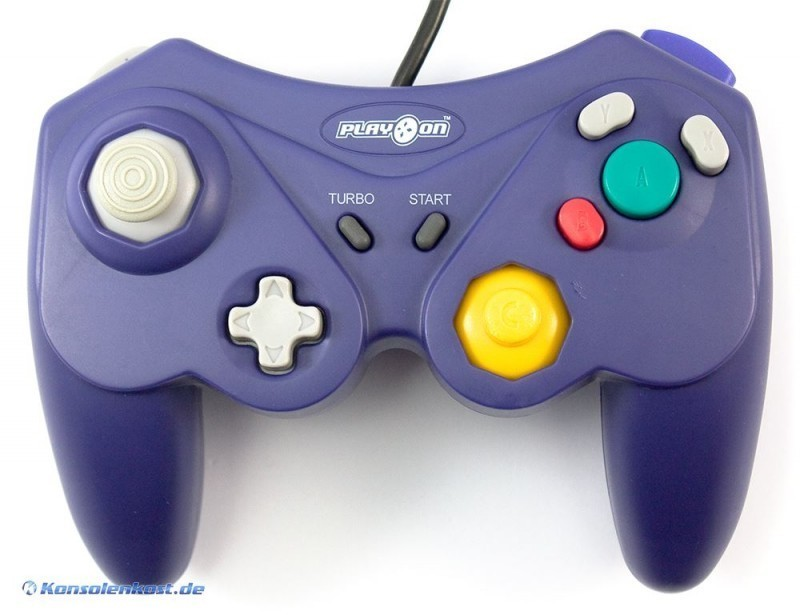 Controller / Pad #lila mit Turbo [PlayOn]