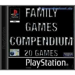 Family Games Compendium / 20 Games auf 3 CDs