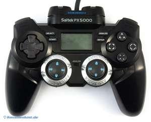 Controller / Pad #schwarz LCD Gamepad PX5000 [Saitek]