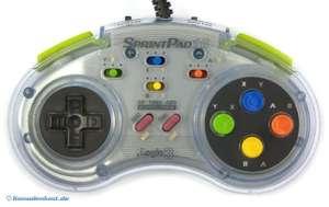 Controller - SprintPad 16 mit Turbo & Auto Fire #transp. [Logic 3]