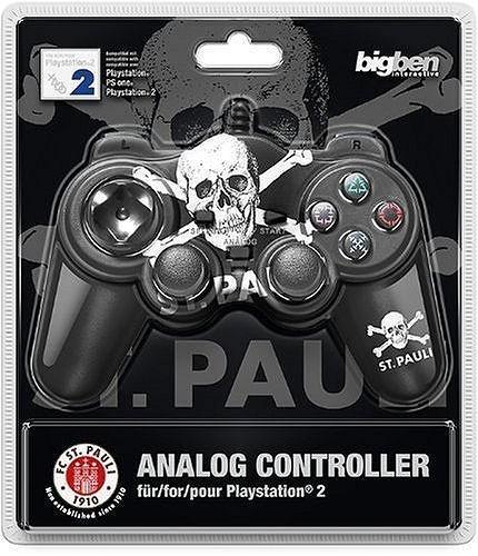Controller / Pad #schwarz St. Pauli Analog Gamepad [BigBen]