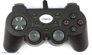 Controller / Pad mit Turbo PS412K #schwarz [Logic3]