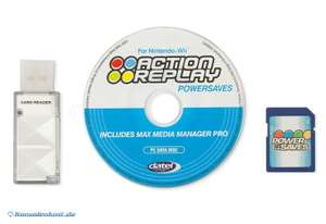 Action Replay Powersaves Disc + 4GB SD Card + USB SD Card Reader [Datel]