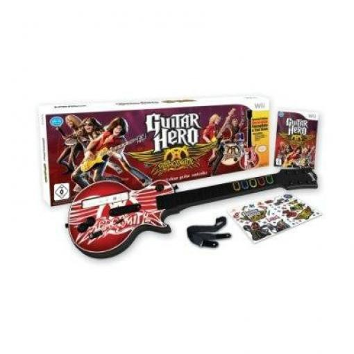 Guitar Hero: Aerosmith + Gitarre