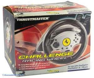 Lenkrad / Racing / Steering Wheel mit Pedale Ferrari Challenge [Thrustmaster]